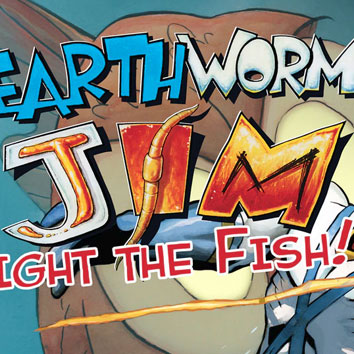 Earthworm Jim 2 Fight The Fish