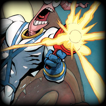 Earthworm Jim Fight The Fish Cover Preview